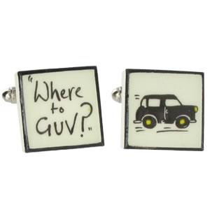 Where To Guv? Cufflinks