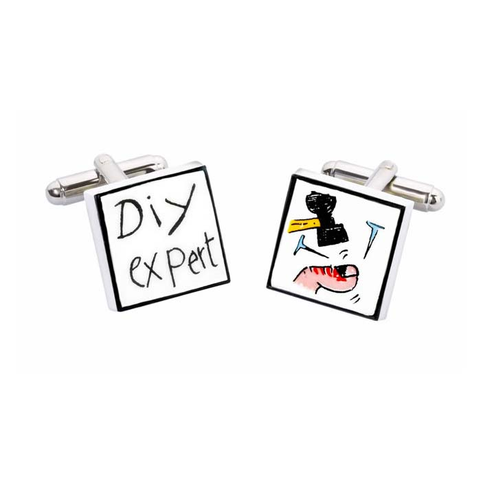 DIY Expert Cufflinks