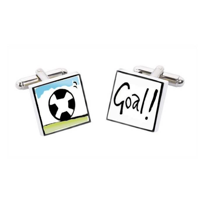 Football Goal Cufflinks