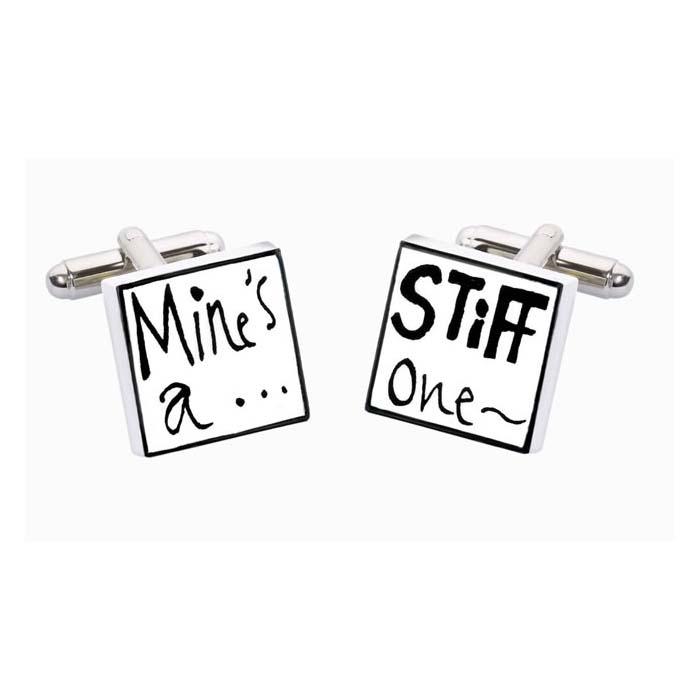 Mines A Stiff One Cufflinks