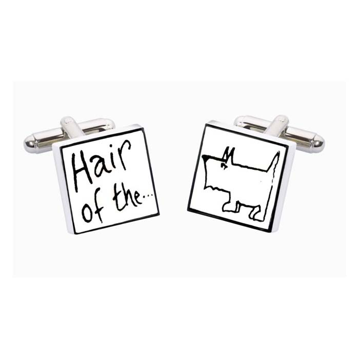 Hair Of The Dog Cufflinks