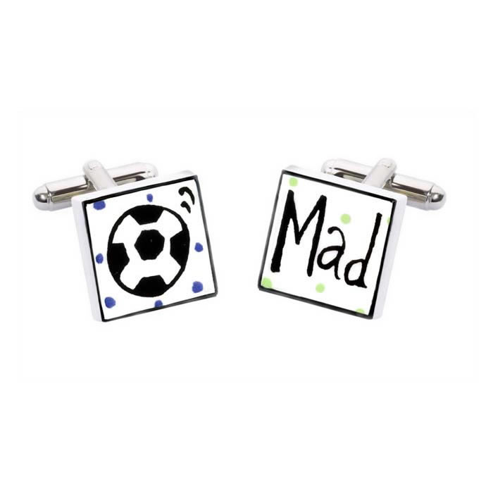 Football Mad Cufflinks