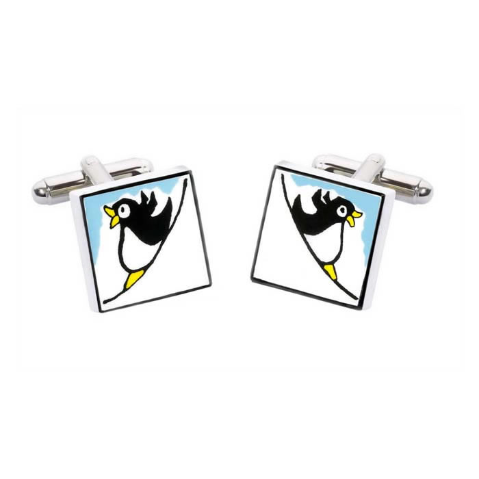 Penguin Square Cufflinks