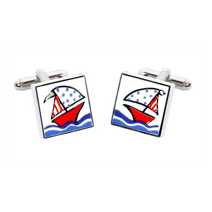 Boat Cufflinks
