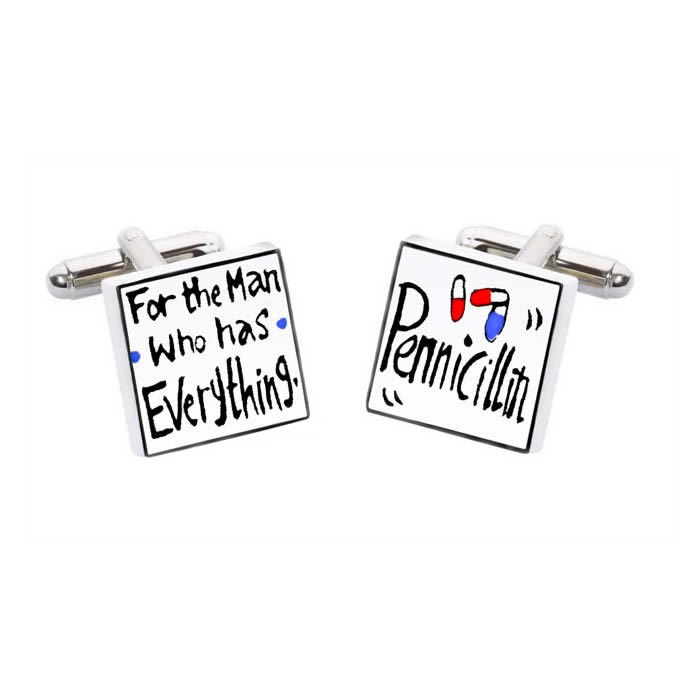 For The Man Who Has Cufflinks
