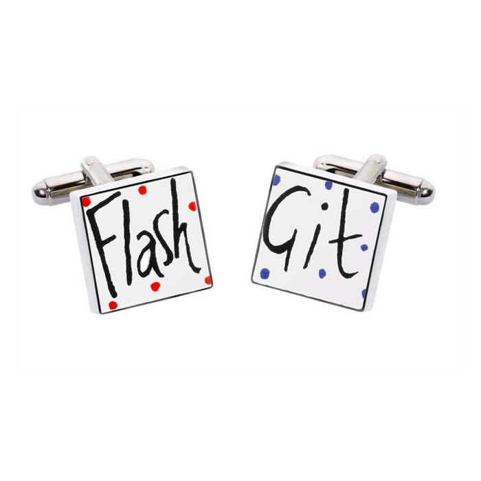 Flash Git Cufflinks