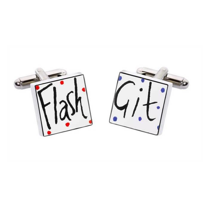 Flash Git Cufflinks