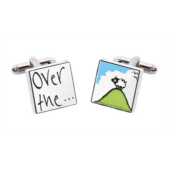 Over The Hill Cufflinks