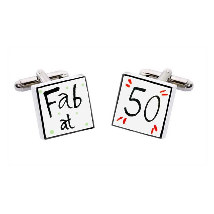 Fab At 50 Cufflinks