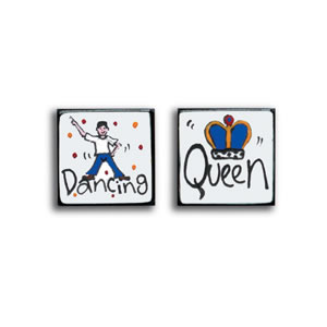 Dancing Queen Cufflinks