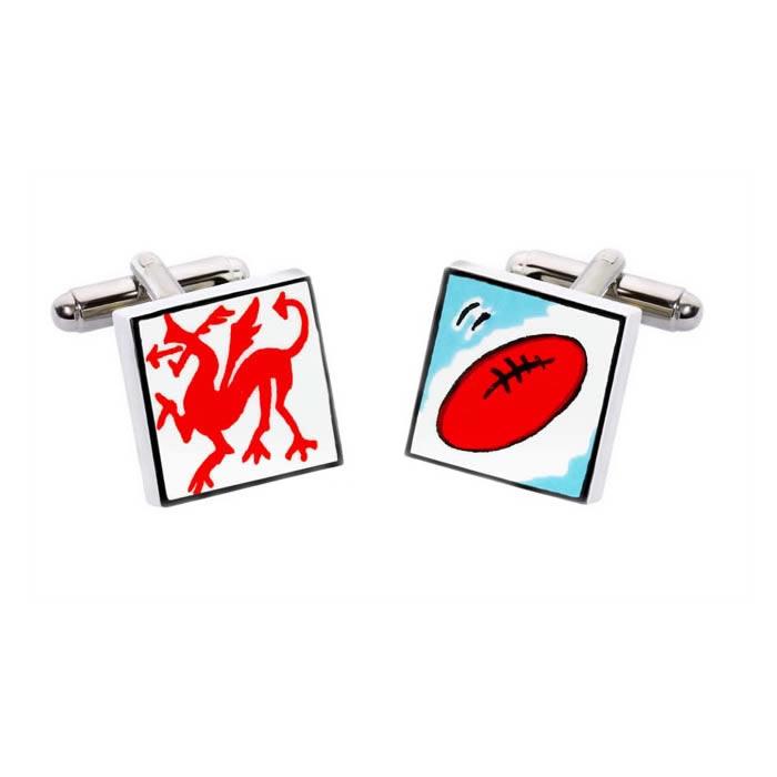 Welsh Rugby Cufflinks