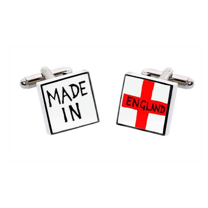Made In England Cufflinks