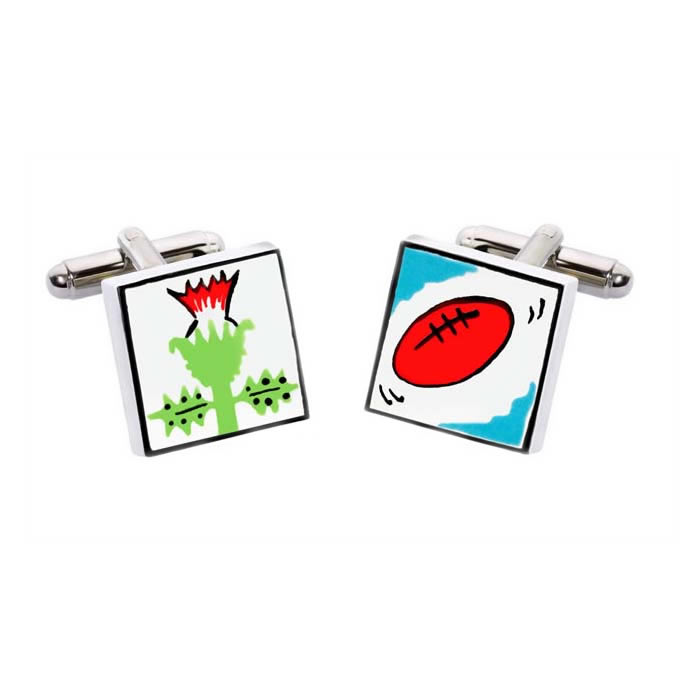 Scottish Rugby Cufflinks
