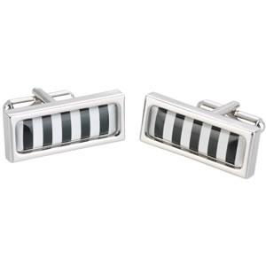 Bold Stripe Long Cufflinks