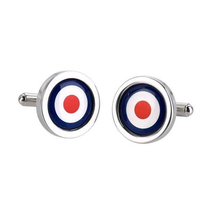 RAF Target Shaped Cufflinks
