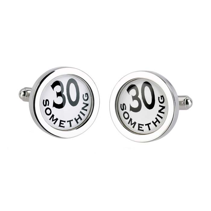 30 Something Cufflinks