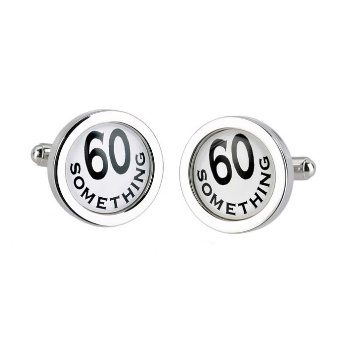 60 Something Cufflinks