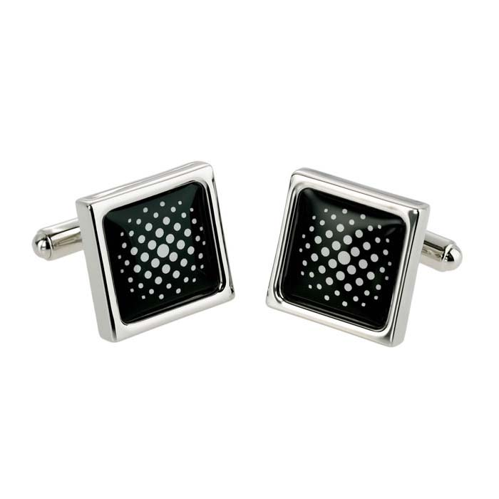 Space Dot Cufflinks