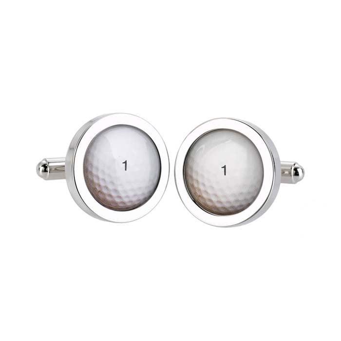Golf Ball No. 1 Cufflinks