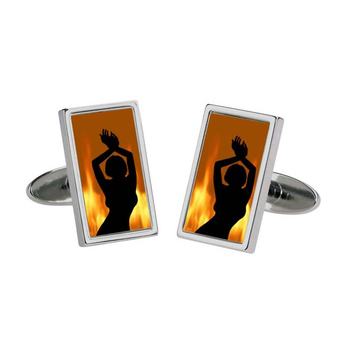 Fire Lady Cufflinks
