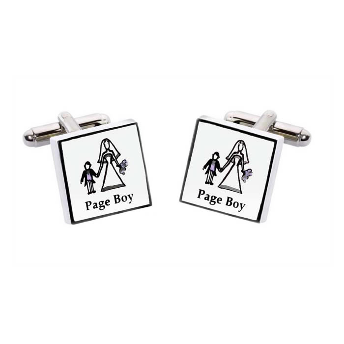 Wedding Page Boy Cufflinks