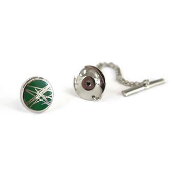 Green Diffusion Tie Pin