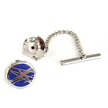Diffusion Navy Tie Pins