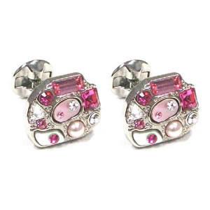 Pink Marquis Cufflinks