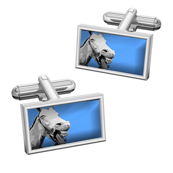 Humorous Horse Cufflinks
