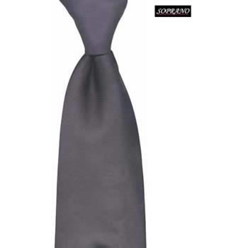 Black Plain Gentlemans Tie