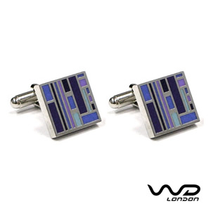 Blue & Purple Jack Cufflinks