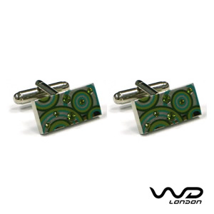 Green Louis Cufflinks