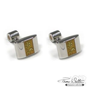Yellow Jonathan Cufflinks