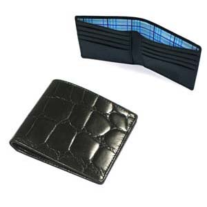 2 Note 6 Cards Leather Credit Card Wallet