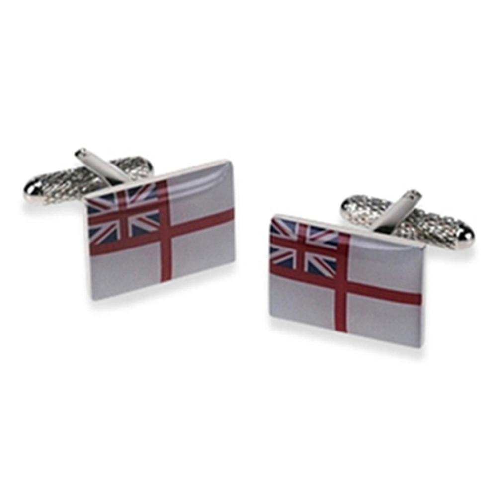 Royal Navy Flag Cufflinks