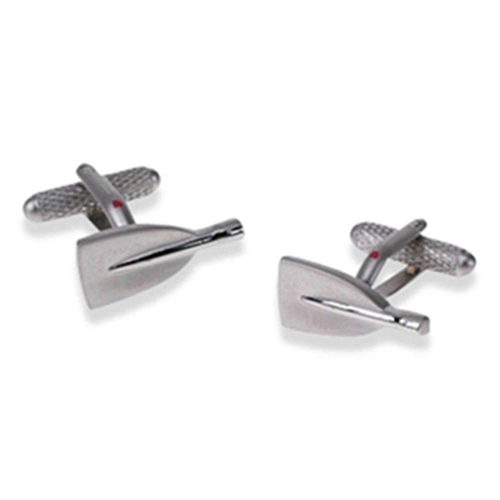 Rowing Boat Oars Cufflinks