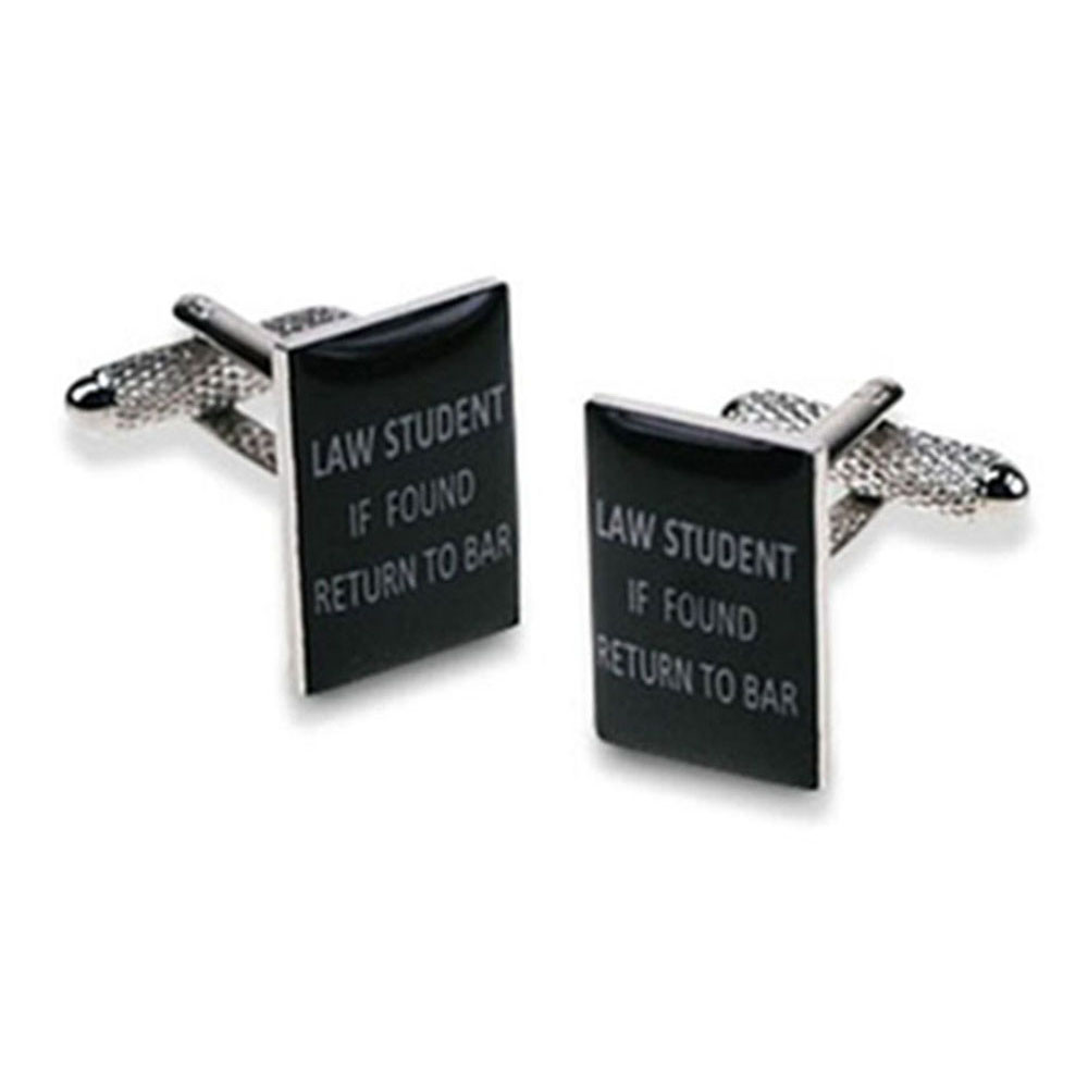 Law Student...Return To Bar Cufflinks