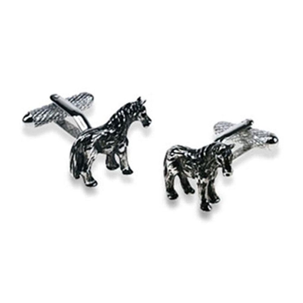 Shire Horse Cufflinks