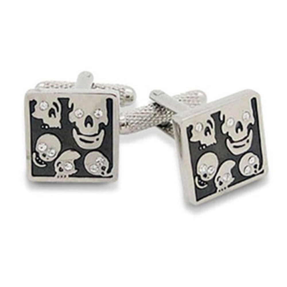 Square Skulls Cufflinks