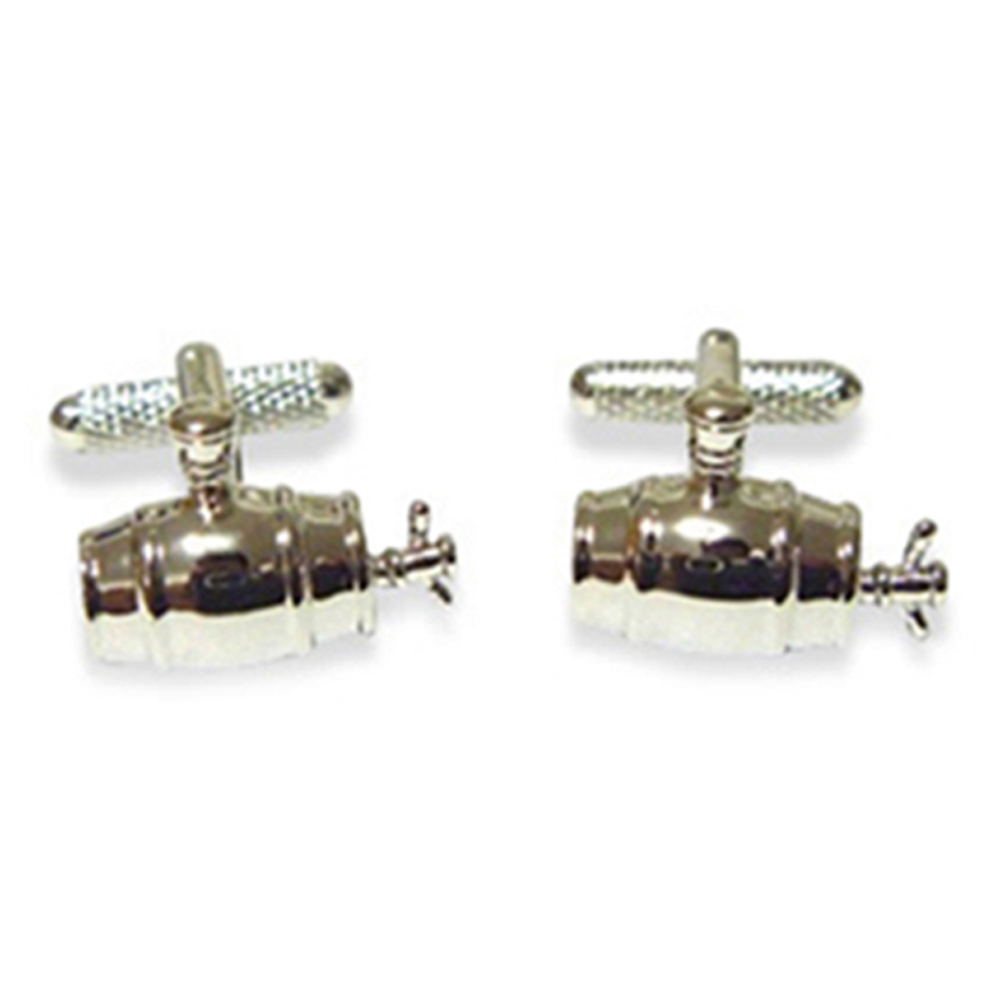 Beer Barrel Cufflinks