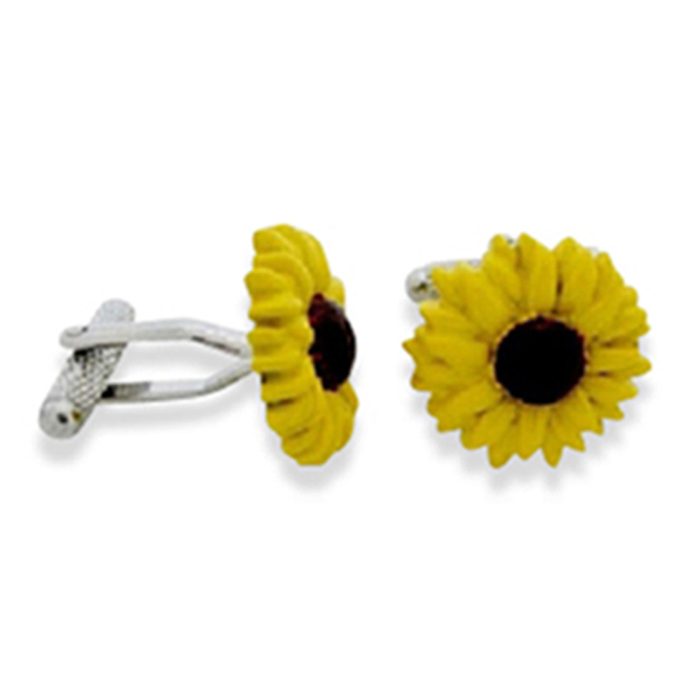 Sunflower Cufflinks
