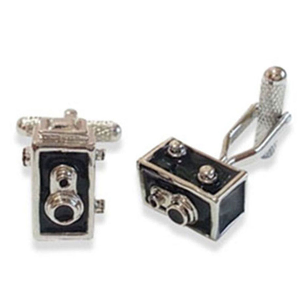 Single Lens Reflex Box Camera Cufflinks