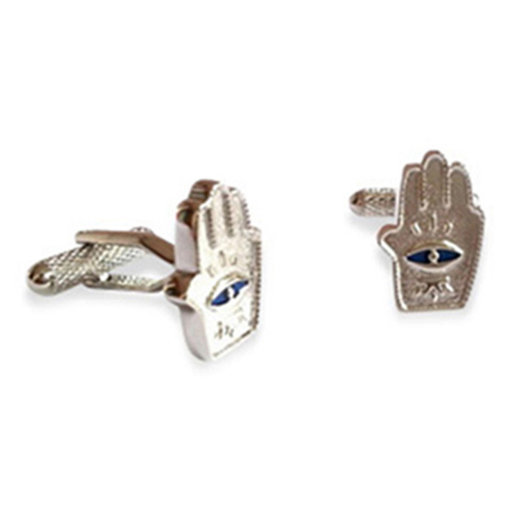 Hasma Hand Evil Eye Cufflinks