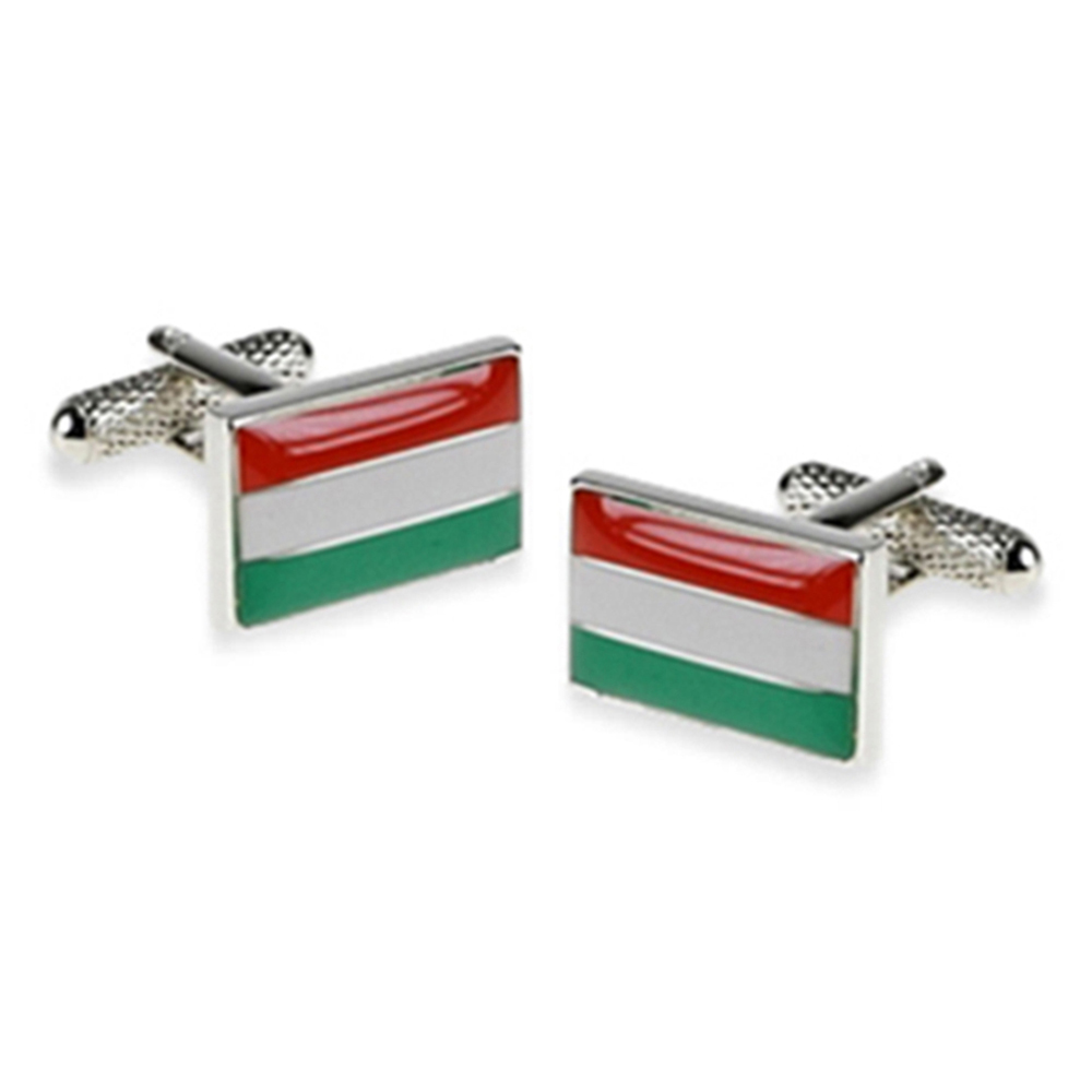 Hungary Flag Cufflinks