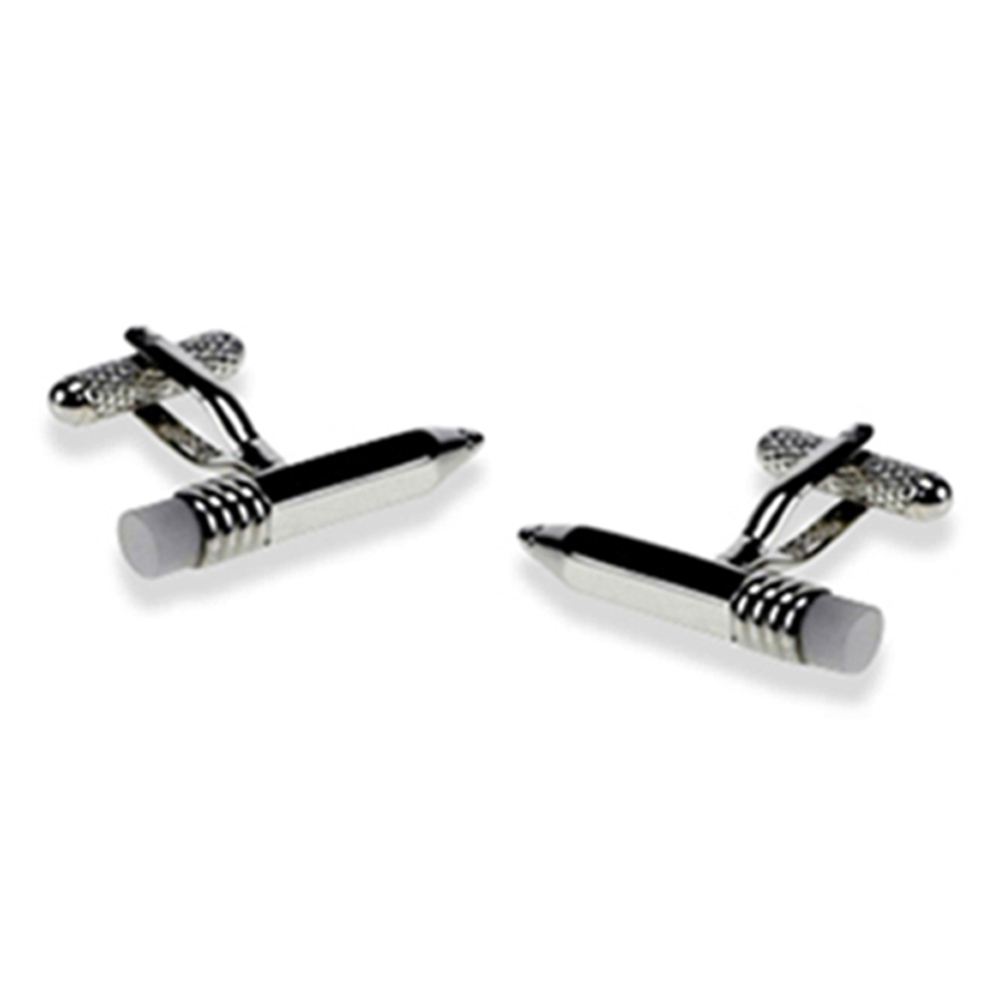 Pencil And Eraser Cufflinks