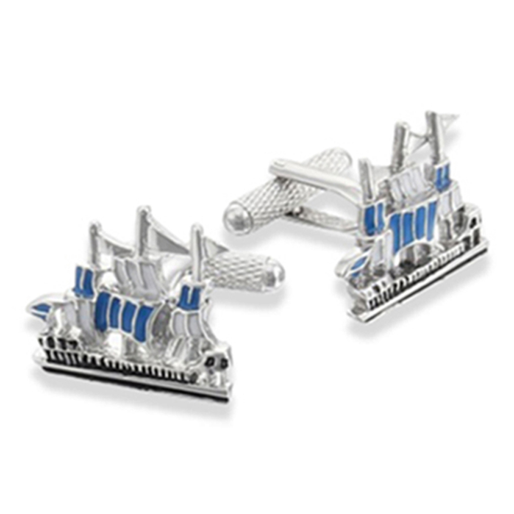 The Armada Sailing Ship Cufflinks