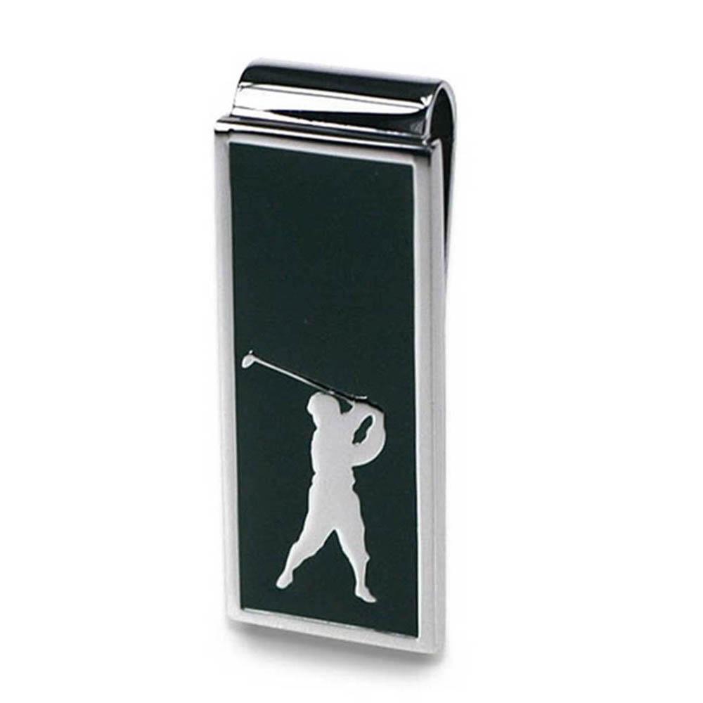 Golfer Money Clip