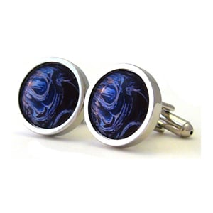 Mysterious Cool Waters Cufflinks