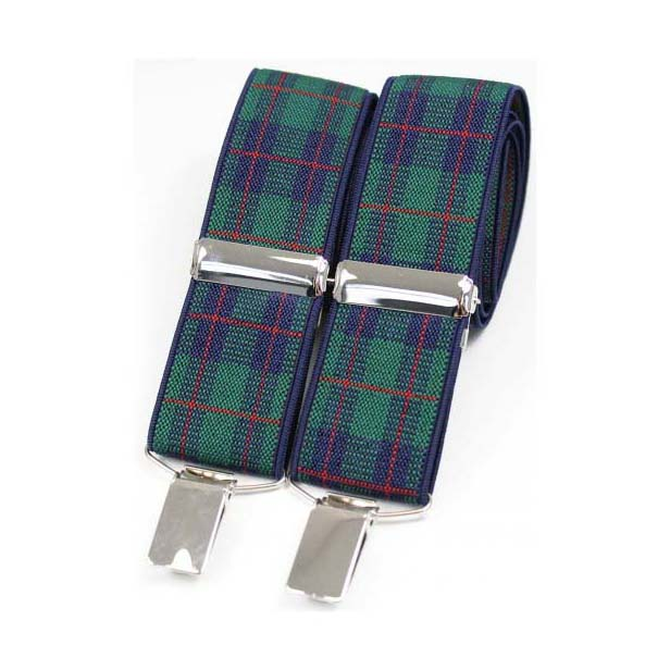 Black Watch Tartan Braces
