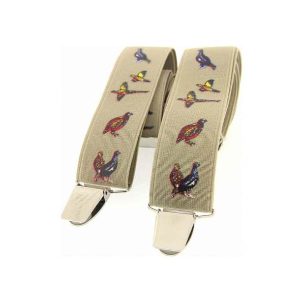 Country Bird Themed Sand Braces